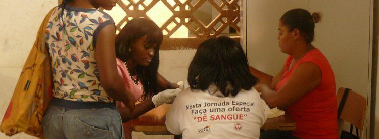 Acção de saúde comunitária em Capalanga