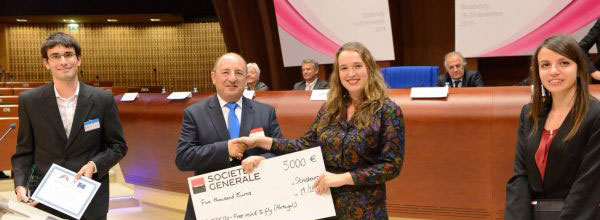 CHECK!N awarded with the European Drug Prevention Prize 2014