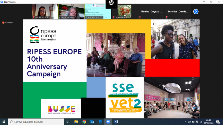 Participation of APDES in the General-Assembly of RIPESS Europe