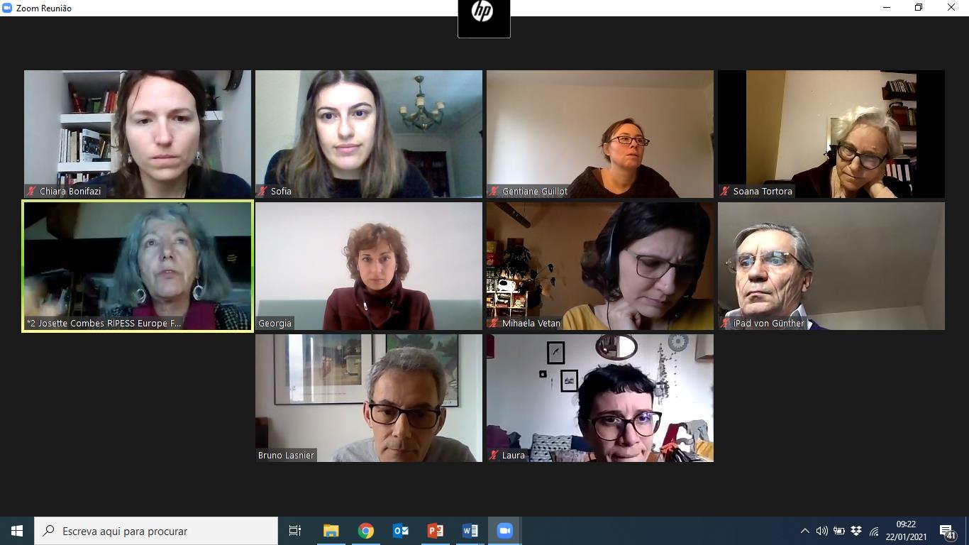 Reunião de Parceria Projeto SSE VET 2