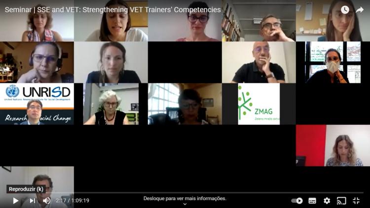 Seminar | SSE and VET: Strenghthening VET Trainers' Competencies